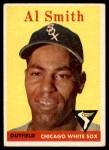 1958 Topps #177  Al Smith  Front Thumbnail