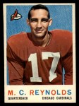 1959 Topps #135  M.C. Reynolds  Front Thumbnail