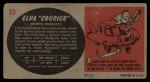 1961 Topps Sports Cars #53   Elva Courier Back Thumbnail