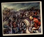 1950 Bowman Wild Man #44   Battle of Waterloo Front Thumbnail