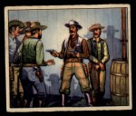 1949 Bowman Wild West #9 F  Sheriff Defies Mob Front Thumbnail