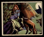 1949 Bowman Wild West #10 D  Escaping the Commanches Front Thumbnail