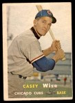 1957 Topps #396  Casey Wise  Front Thumbnail