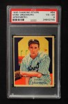 1935 Diamond Stars #54 ERR Hank Greenberg   Front Thumbnail