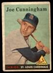 1958 Topps #168  Joe Cunningham  Front Thumbnail
