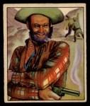 1949 Bowman Wild West #2 H Al Fuzzy St. John  Front Thumbnail
