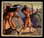 1949 Bowman Wild West #11 B  Young Indian Learns Front Thumbnail