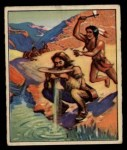 1949 Bowman Wild West #10 A  Death at the Waterhole Front Thumbnail