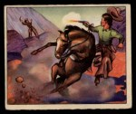 1949 Bowman Wild West #14 F  Rangers Ride Front Thumbnail