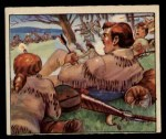 1949 Bowman Wild West #8 D  Battle of Tippecanoe Front Thumbnail