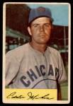 1954 Bowman #61 2B Eddie Miksis  Front Thumbnail