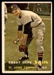 1957 Topps #384  Bobby Gene Smith  Front Thumbnail