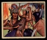 1949 Bowman Wild West #16 B  Indian Customs the Medicine Man Front Thumbnail