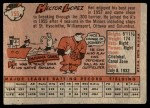 1958 Topps #155  Hector Lopez  Back Thumbnail