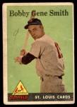 1958 Topps #402  Bobby Gene Smith  Front Thumbnail