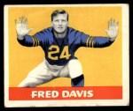 1948 Leaf #27 YEL Fred Davis  Front Thumbnail