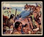 1949 Bowman Wild West #7 C Captain Jack  Front Thumbnail