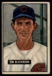 1951 Bowman #287  Jim Blackburn  Front Thumbnail