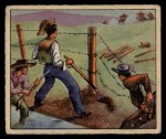 1949 Bowman Wild West #11 E  Range War Front Thumbnail