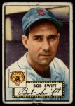 1952 Topps #181  Bob Swift  Front Thumbnail