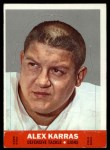 1968 Topps Stand-Ups #11  Alex Karras  Front Thumbnail