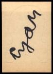 1968 Topps Stand-Ups #21  Frank Ryan  Back Thumbnail