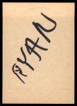 1968 Topps Stand-Ups #18  Bill Nelsen  Back Thumbnail