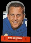 1968 Topps Stand-Ups #16  Don Meredith  Front Thumbnail