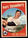 1959 Topps #326  Marv Throneberry  Front Thumbnail