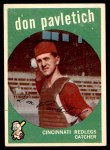 1959 Topps #494  Don Pavletich  Front Thumbnail