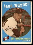 1959 Topps #257  Leon Wagner  Front Thumbnail