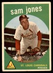 1959 Topps #75  Sam Jones  Front Thumbnail