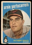 1959 Topps #98  Arnie Portocarrero  Front Thumbnail