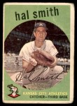 1959 Topps #227  Hal W. Smith  Front Thumbnail