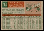 1959 Topps #153  Jim Marshall  Back Thumbnail