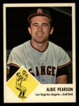 1963 Fleer #19  Albie Pearson  Front Thumbnail