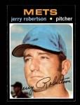 1971 Topps #651  Jerry Robertson  Front Thumbnail