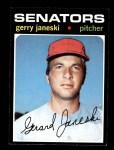 1971 Topps #673  Gerry Janeski  Front Thumbnail