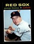 1971 Topps #678  George Thomas  Front Thumbnail
