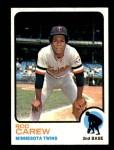 1973 Topps #330  Rod Carew  Front Thumbnail