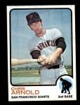 1973 Topps #584  Chris Arnold  Front Thumbnail