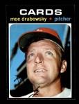 1971 Topps #685  Moe Drabowsky  Front Thumbnail