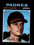 1971 Topps #656  Gerry Nyman  Front Thumbnail