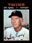 1971 Topps #532  Bill Rigney  Front Thumbnail