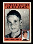 1972 Topps #498   -  Brooks Robinson Boyhood Photo Front Thumbnail