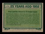 1977 Topps #437   -  Ralph Kiner Turn Back The Clock Back Thumbnail