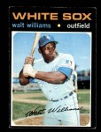 1971 Topps #555  Walt Williams  Front Thumbnail