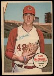 1967 Topps Poster Pin-Up Poster #8  Sam McDowell  Front Thumbnail