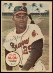 1967 Topps Poster Pin-Up Poster Inserts #30  Felipe Alou  Front Thumbnail