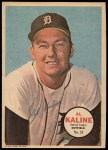 1967 Topps Poster Pin-Up Poster Inserts #21  Al Kaline  Front Thumbnail